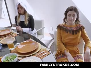 A Family Thanksgiving Orgy